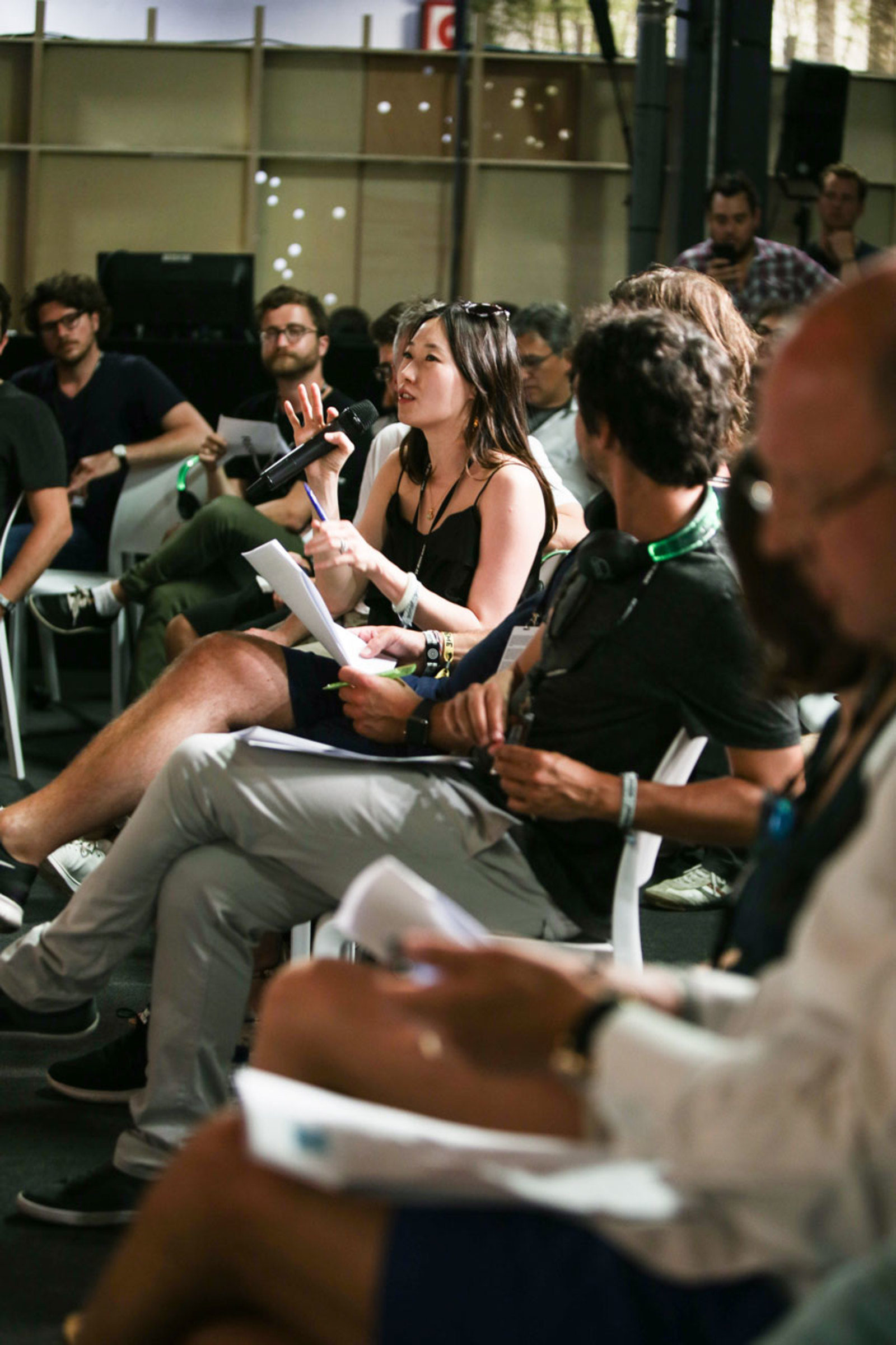 The judges of the Startup Competition - Sónar+D Barcelona 2017