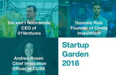 New additions to Startup Garden 2018 lineup - Sónar+D Barcelona 2018