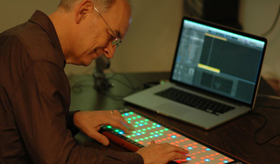 Roger Linn, designer of electronic music products and founder of LinnStrument - Sónar+D Barcelona 2018
