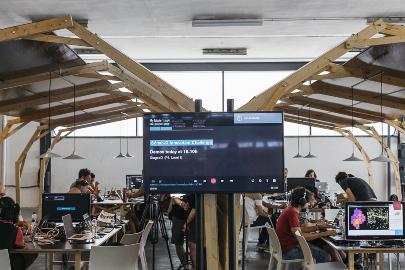 Sónar+D Innovation Challenge Demos